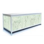 Экран под ванну 180 см, цвет зеленый мрамор