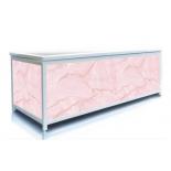 Экран под ванну 180 см, цвет розовый мрамор